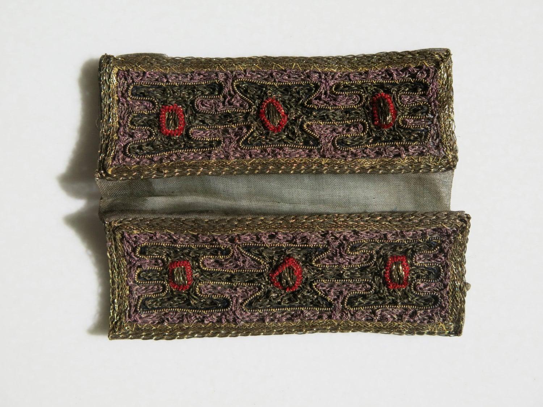 ÉPAULETTES VINTAGE - paire d'épaulettes d'épaulettes d'épaulettes décoratifs de l'Inde 3c3abe