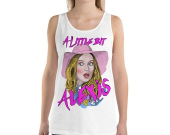 A Little Bit Alexis Unisex Tank Top