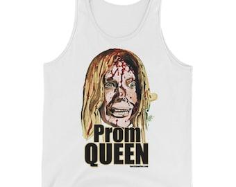 Carrie Prom Queen Unisex  Tank Top