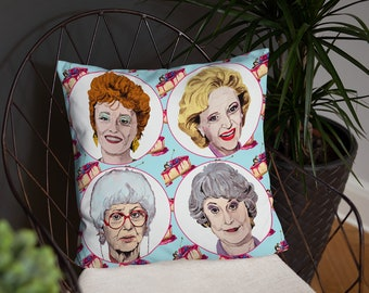 Golden Girls Double-sided Pillow Case