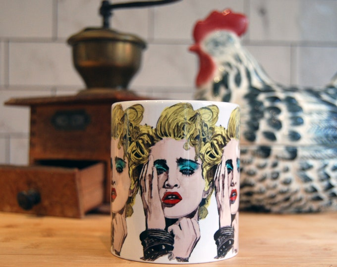 Madonna 1980's  Mug - Please read Description
