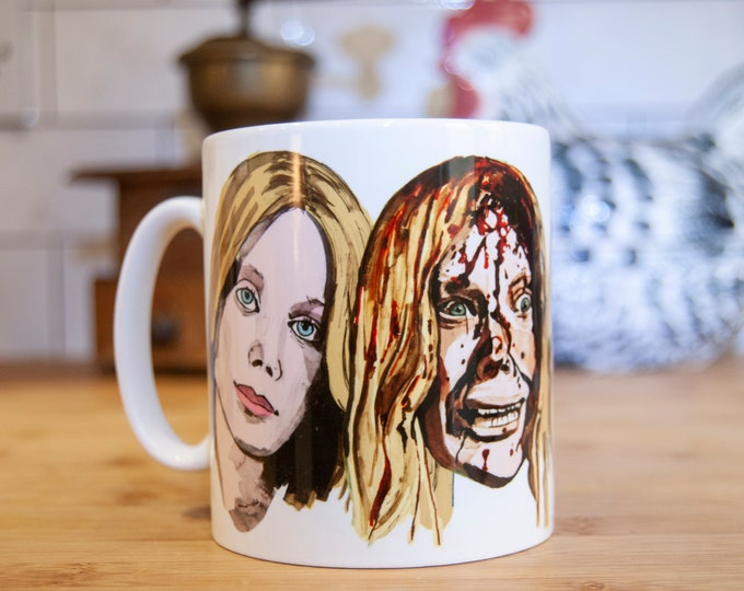 Stephen King's Carrie mug