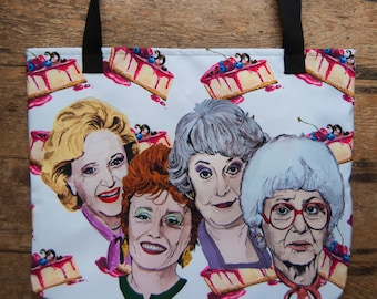 Golden Girls Beach Bag