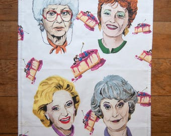 Golden Girls Dish Towel (tea towel) Please read description