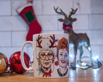 Golden Girls Christmas Mug