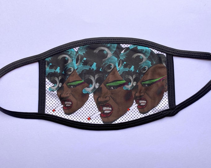 Grace Jones (Non-Surgical) Face mask - Please read description