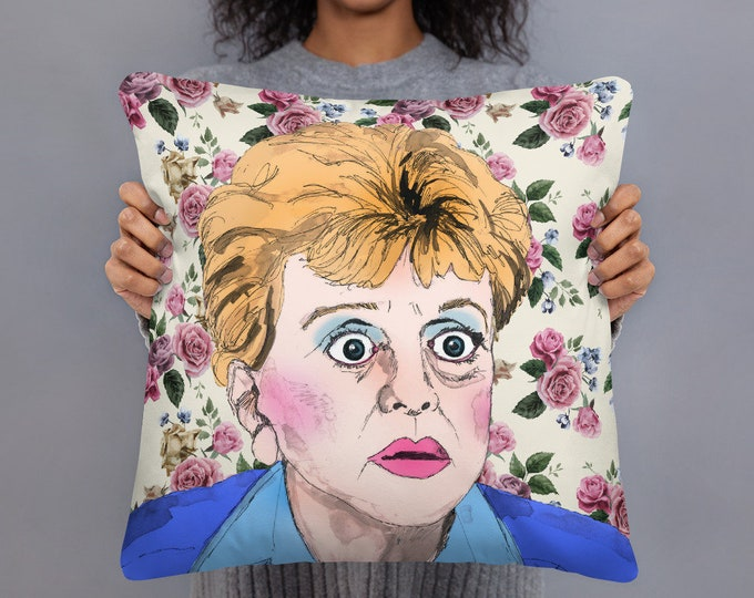 Murder She Wrote Pillow Case