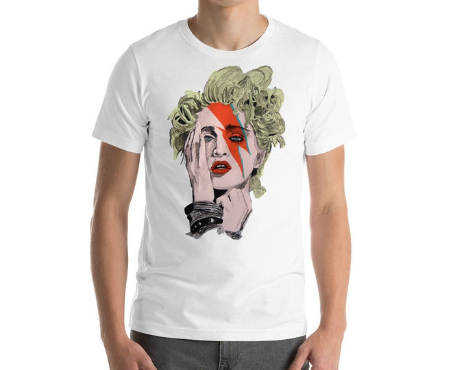 Madonna as Bowie Unisex T-Shirt