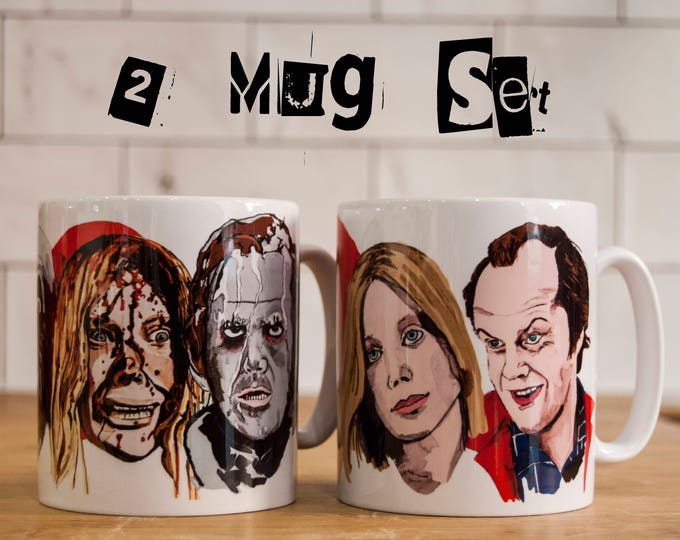 Stephen King Character Good Day/Bad Day Mug set