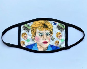 Murder She Wrote (Non-Surgical) Face mask - Please read description