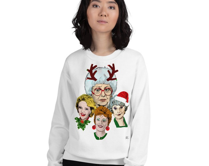 Golden Girls Christmas Sweatshirt