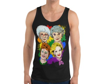 PRIDE Golden Girls Unisex Tank Top