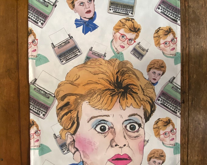 Murder She Wrote Dish Towel / Tea Towel