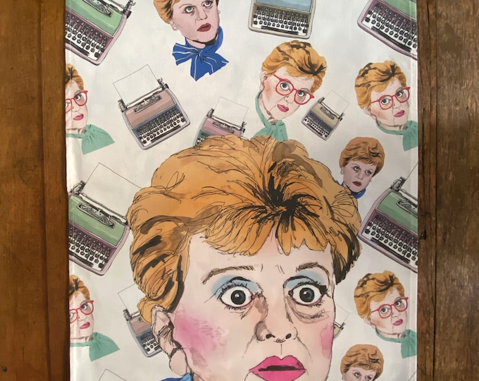 Murder She Wrote Dish Towel / Tea Towel - Please read description