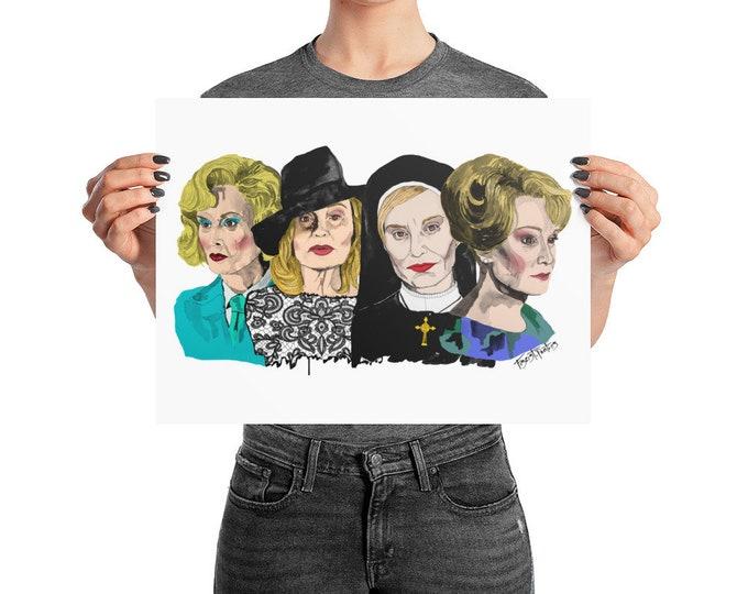 Jessica Lange Poster