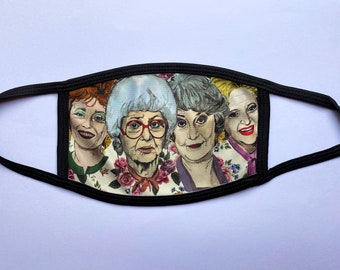 Golden Girls (Non-Surgical) Face mask - Please read description