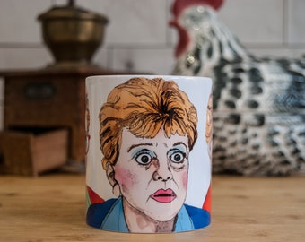 Murder She Wrote (Jessica Fletcher) MUG - Please read description