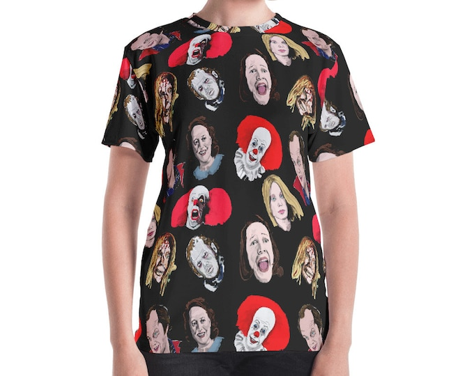 Women's Stephen King Characters T-shirt