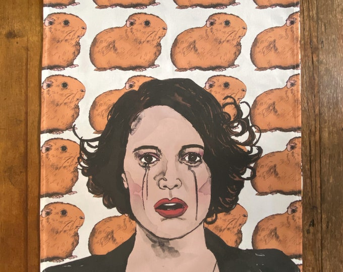 Fleabag Dish Towel / Tea towel