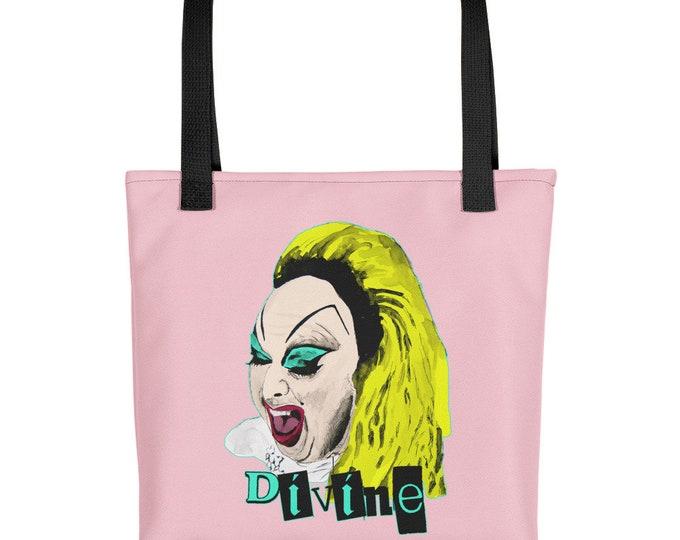 Divine Pink Flamingos Tote bag