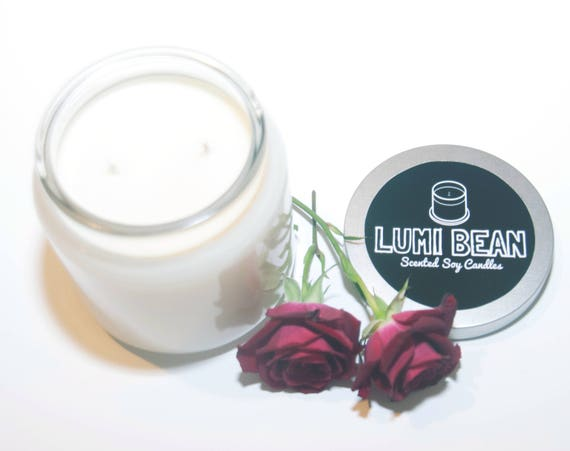 16 oz Rose Garden Vegan Scented Soy Candle
