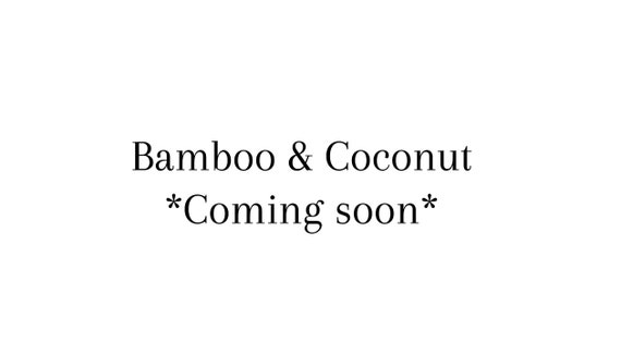 16 oz Bamboo & Coconut Vegan Scented Soy Candle