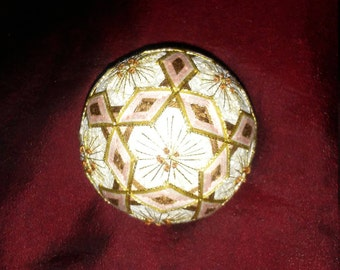 Sakura Flower Temari Japanese thread ball