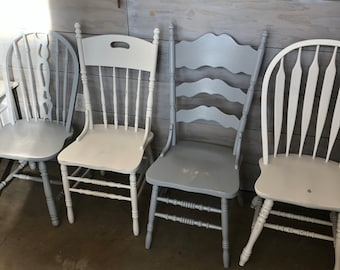 Vintage Farm Chairs Etsy