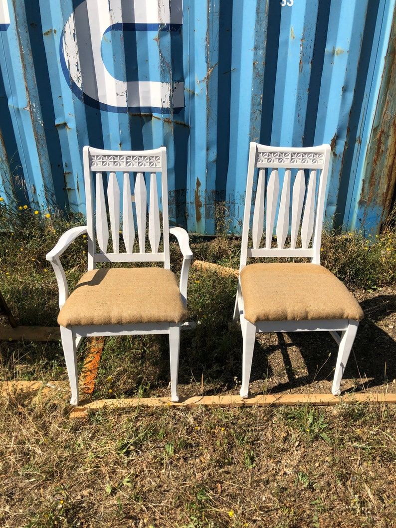 Farmhouse Chairs  set of four vintage farm chairs You choose the style and finish rustic provincial dining chairs