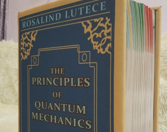Bioshock Infinite Elizabeth's Book The Principles of Quantum Mechanics Cover for a Book NEW