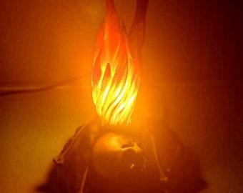 Dark S. Bonfire Lamp - Night Light