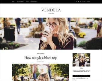 Vendela | Responsive Blogger Template + Free Installation