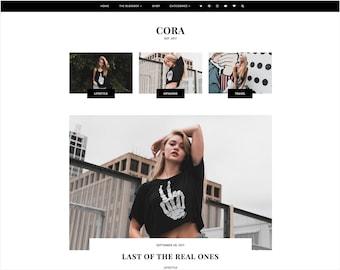 Cora   Responsive Blogger Template + Free Installation