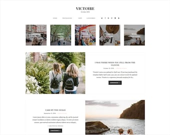 Victoire   Responsive Blogger Template + Free Installation