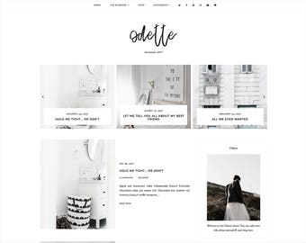 responsive premade templates for blogger by fearnecreativedesign
