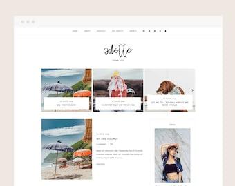 Only 4 left! Odette • Blogger Theme - Minimalist, Responsive Blog Theme for Blogger/Blogspot