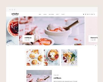 Only 5 left! Ariadne • Blogger Theme - Feminine, Responsive Blog Theme for Blogger/Blogspot