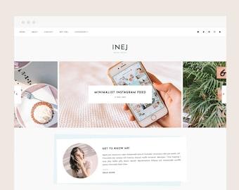 Only 2 left! Inej • Blogger Theme - Responsive Blog Theme for Blogger/Blogspot
