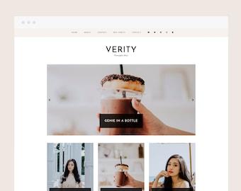 Only 1 left! Verity • Blogger Theme - Responsive Blog Theme for Blogger/Blogspot