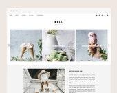 Only 1 left! Kell • Blogger Theme - Grid, Responsive Blog Theme for Blogger/Blogspot