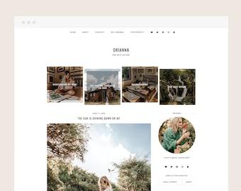 Orianna • Blogger Theme - Minimalist, Responsive Blog Theme for Blogger/Blogspot