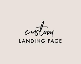 Custom Landing Page