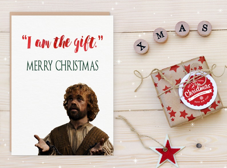 picture regarding Funny Printable Christmas Cards referred to as Activity of Thrones Xmas Card Printable Lannister Christmas Card Humorous Printable Holiday vacation Card Partner Boyfriend Spouse Girlfriend Quick Down load