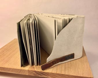 Suede Journal with Buckle