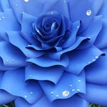 """X-Large, giant paper flower, large paper flower, big paper flower for any occasion """"DEW"""""""