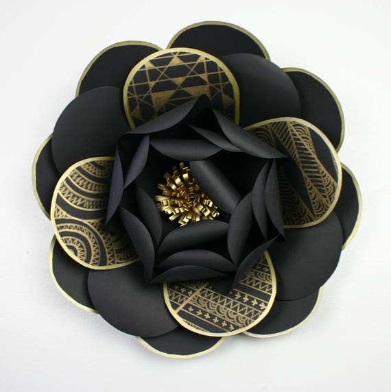 """X-Large, giant paper flower, large paper flower, big paper flower for any occasion """"HARPER"""""""