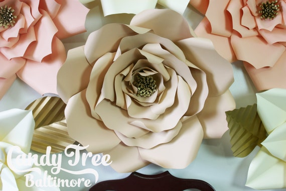 """X-Large, giant paper flower, large paper flower, big paper flower for any occasion """"KAMILA"""""""