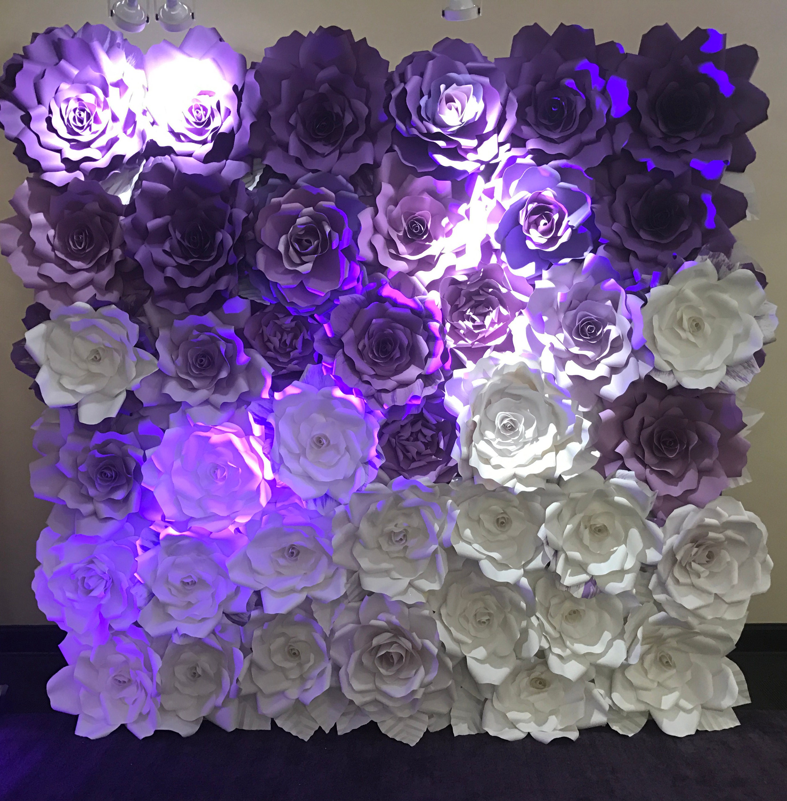 paper flower backdrop giant paper flowers wall paper flower wall wedding wall wedding arch