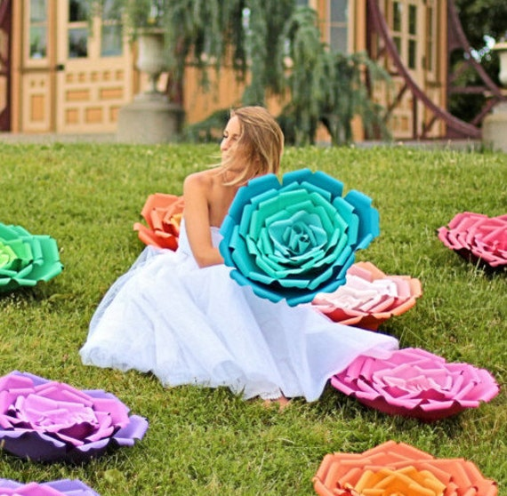 "X-Large, giant paper flower, large paper flower, big paper flower for any occasion ""ARIANA"""