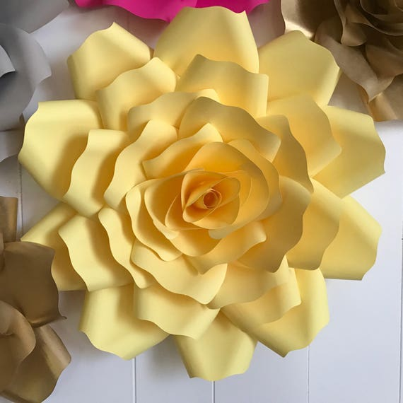 "X-Large, giant paper flower, large paper flower, big paper flower for any occasion ""OLIVIA"""